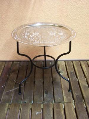 Oriental Table Gibraltar - Silver, 40cm – image 1