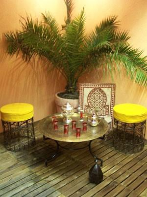 Oriental Table Gibraltar - Antique, 80cm – image 2