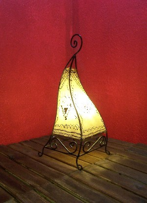 Floor Lamp Marrakesch nature 50cm – image 2