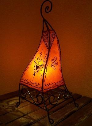 Floor Lamp Marrakesch orange 50cm – image 1