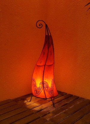 Floor Lamp Arif orange 70cm – image 2