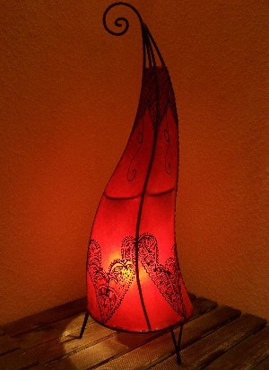 Floor Lamp Arif Red 70cm – image 1