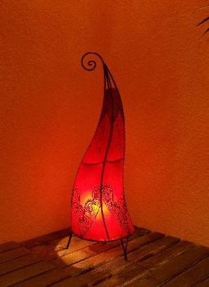 Floor Lamp Arif Red 70cm – image 2