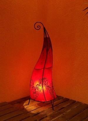 Floor Lamp Arif Red 70cm – image 2