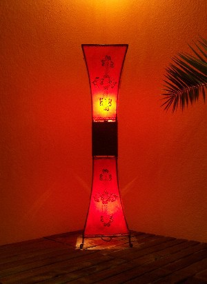Floor Lamp Adena Red 100cm – image 3