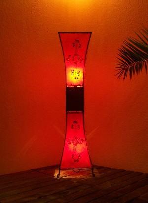 Floor Lamp Adena Red 100cm – image 3