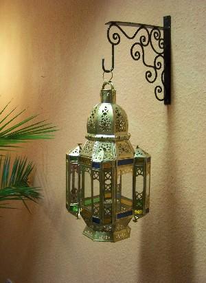 Oriental Ceiling Lamp Moulati brass – image 5