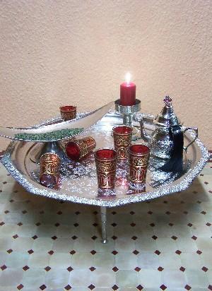 Tea Glass Laylana red – image 3