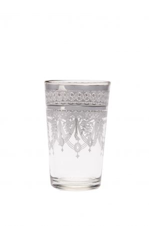 6x Tea Glass Marrakesh white – image 3