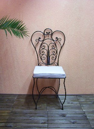 Oriental Iron Chair Cordoba – image 2