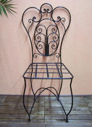 Oriental Iron Chair Cordoba – image 3