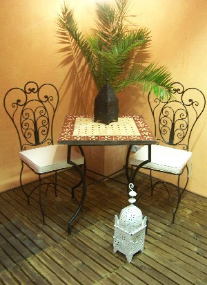 Oriental Iron Chair Cordoba – image 5