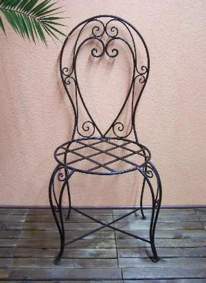 Mediterranean Iron Chair Elsol – image 3