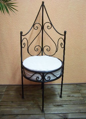 Moroccan Iron Chair Granada – image 1