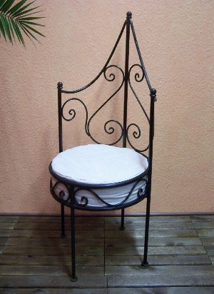 Moroccan Iron Chair Granada – image 4