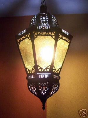 Oriental Lamp Ksar yellow