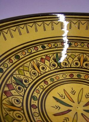Moroccan Ceramic Bowl Amjad – image 2