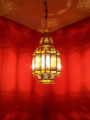 Oriental Ceiling Lamp Alia brass – image 3