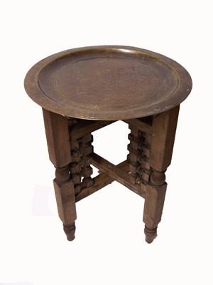 Oriental Table Mehdia - Antique, 40cm – image 1
