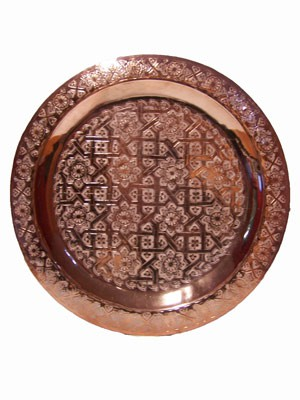 Oriental Table Mehdia - Copper, 40cm – image 2
