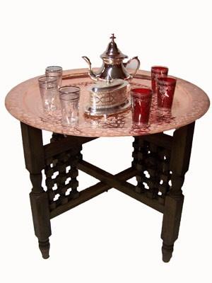Oriental Table Mehdia - Copper, 60cm – image 2