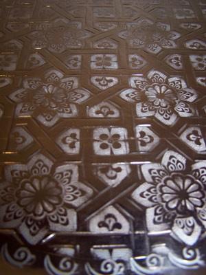 Oriental Table Gibraltar - Copper, 40cm – image 3