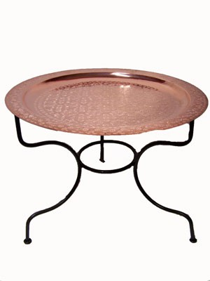 Oriental Table Gibraltar - Copper, 60cm – image 1