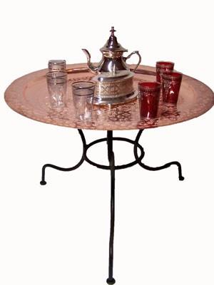 Oriental Table Gibraltar - Copper, 60cm – image 2