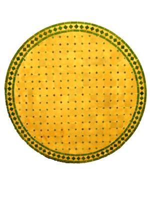 Mosaic Table marrakesch Nature/ Green, 100cm – image 2