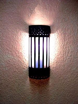 Mediterranean Wall Lamp Samir weiss – image 4