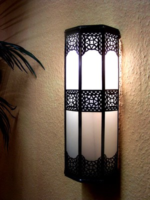 Moroccan Wall Light Rihana white – image 4