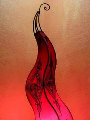 Floor Lamp Mogador Rot 90cm – image 2
