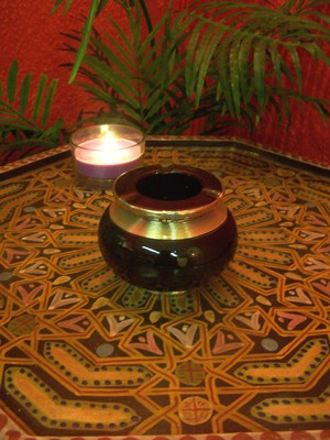 Moroccan Ashtray Cariba - Black – image 3