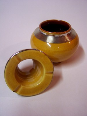 Moroccan Ashtray Cariba - Yellow – image 2