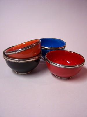 Oriental Ceramic Bowl Cariba - Red – image 4
