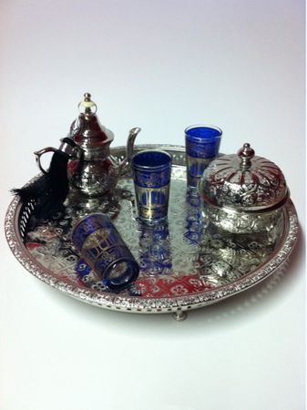 6 pieces Tea Glass Lamia blue – image 7