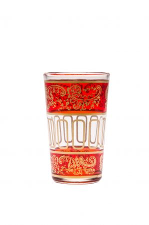 6x Tea Glass Lamia orange - Set of 6 – image 3