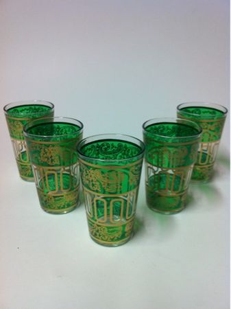 6 x Tea Glass Lamia green - Set of 6 – image 6