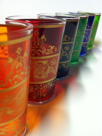 6x Tea Glass Laman (various colors) – image 3