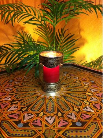Moroccan Candle Stand Senia - Colorless – image 3