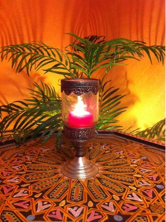 Moroccan Candle Stand Asli - Colorless – image 3