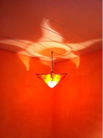 Ceiling Lamp Daya Orange – image 2