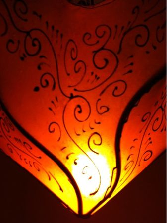 Ceiling Lamp Daya Orange – image 4