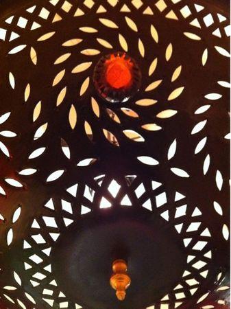 Oriental Ceiling Lamp Juana – image 4