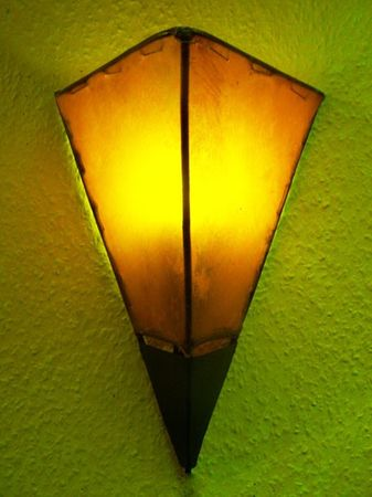 Mediterranean Wall Lamp Marwa Orange – image 1