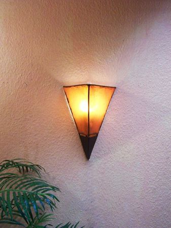 Mediterranean Wall Lamp Marwa Orange – image 2