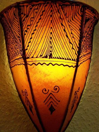 Arabic Wall Lamp Maya Orange – image 3