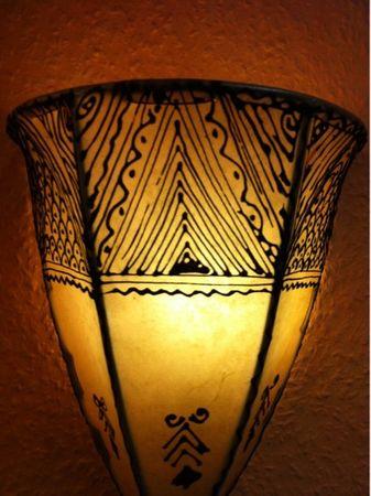 Moroccan Wall Lamp Maya Natur – image 4