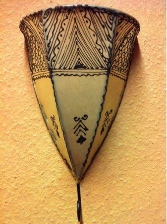 Moroccan Wall Lamp Maya Natur – image 5