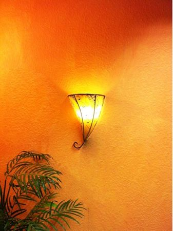 Moroccan Wall Lamp Farhad Nature – image 2